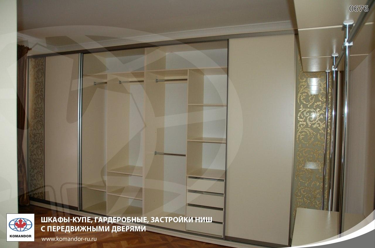 Встроенный шкаф в зал фото дизайн идеи
